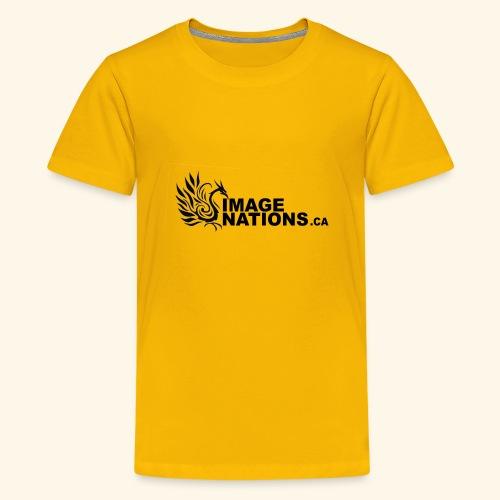 image nation Logo - Kids' Premium T-Shirt