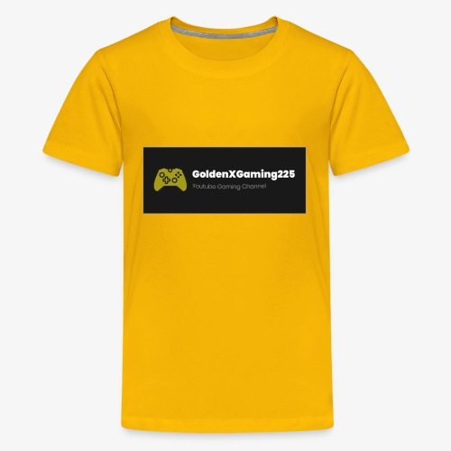 GoldenXGaming225 Merchandise - Kids' Premium T-Shirt