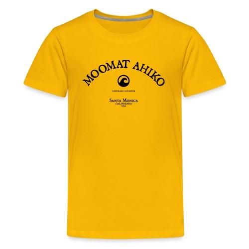 Moomat Ahiko classic black 1 - Kids' Premium T-Shirt