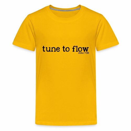 Tune to Flow - Design 2 - Kids' Premium T-Shirt