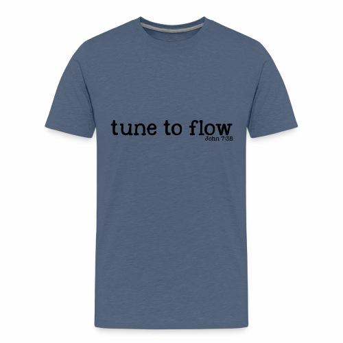 Tune to Flow - Design 2 - Kids' Premium T-Shirt