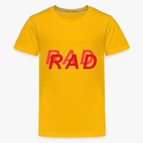 RAD IN RED - Kids' Premium T-Shirt