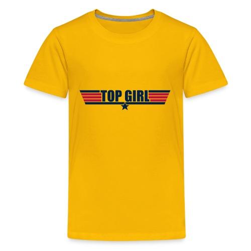 Top Girl - Kids' Premium T-Shirt