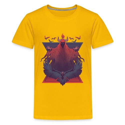 Demon Raven - Kids' Premium T-Shirt