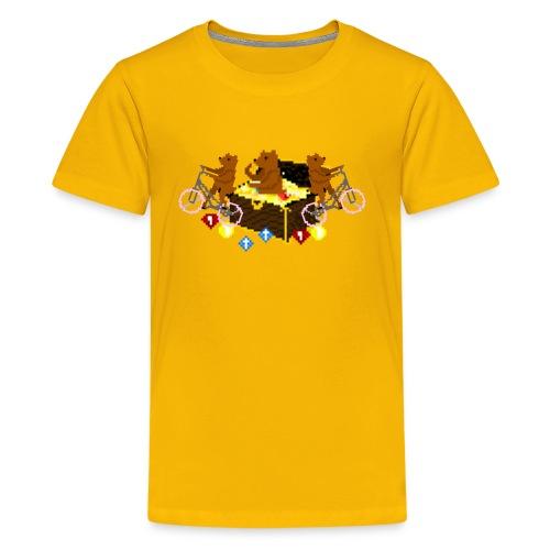 Bear Chest Seal - Kids' Premium T-Shirt