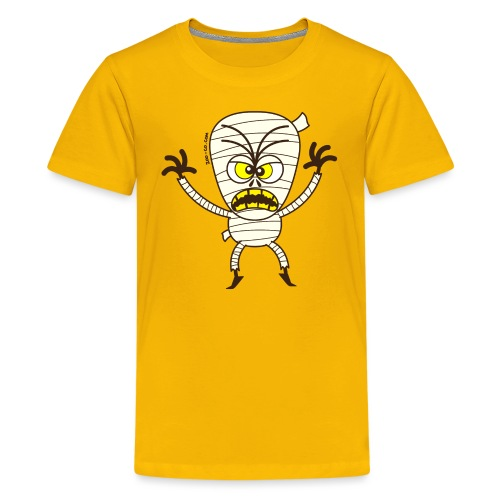 Scary Halloween Mummy - Kids' Premium T-Shirt