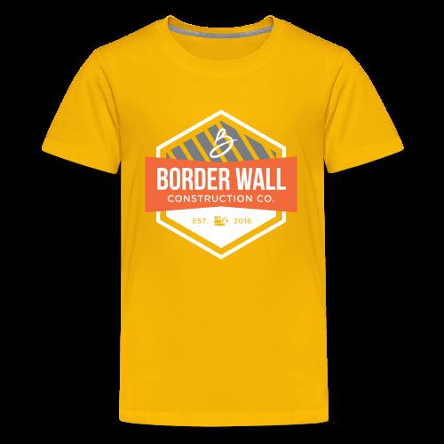 Border Wall Construction Crew - Kids' Premium T-Shirt