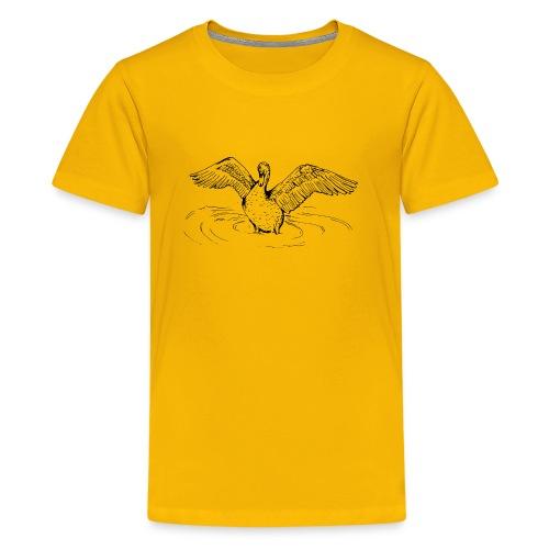 Swan Song- By Stasha Eriksen - Kids' Premium T-Shirt