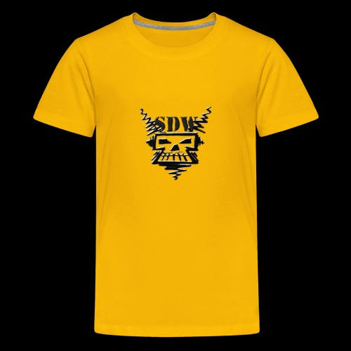 SDW Skull Small - Kids' Premium T-Shirt