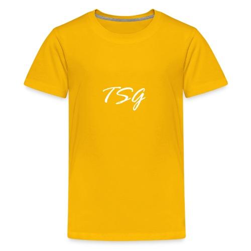 My YouTube Logo - Kids' Premium T-Shirt