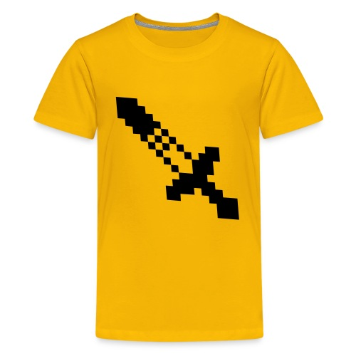 Minecraft SWORD - Kids' Premium T-Shirt