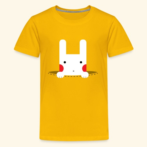 Pocket Bunny - Kids' Premium T-Shirt