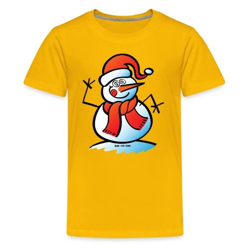 Mad Snowman - Kids' Premium T-Shirt