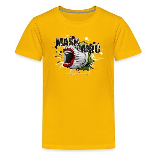 mask panic - Kids' Premium T-Shirt