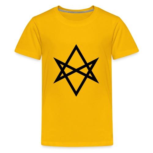 Justin James 'Hexagram' logo - Kids' Premium T-Shirt
