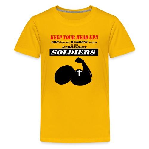 Gods Soldier - Kids' Premium T-Shirt