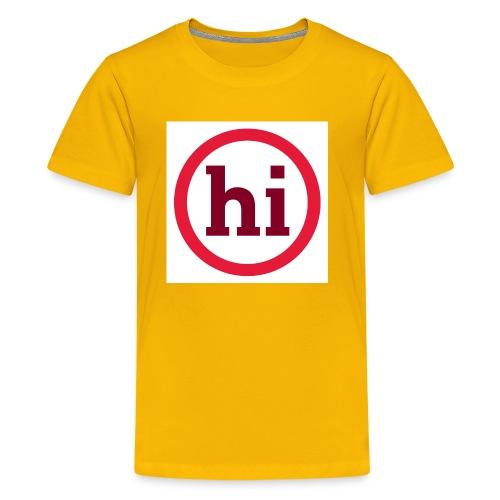 hi T shirt - Kids' Premium T-Shirt