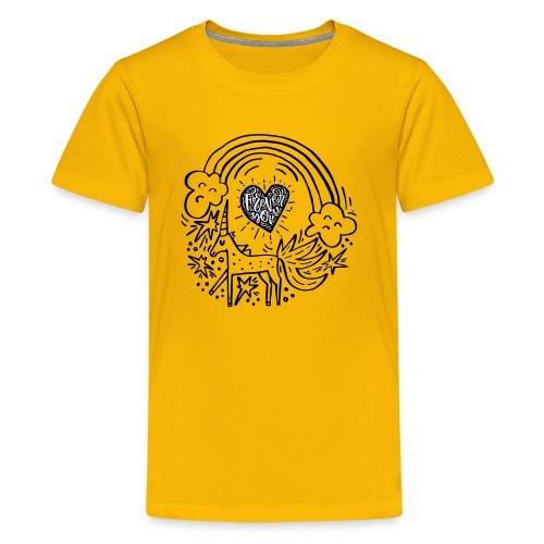 Licorneforeveryou - Kids' Premium T-Shirt