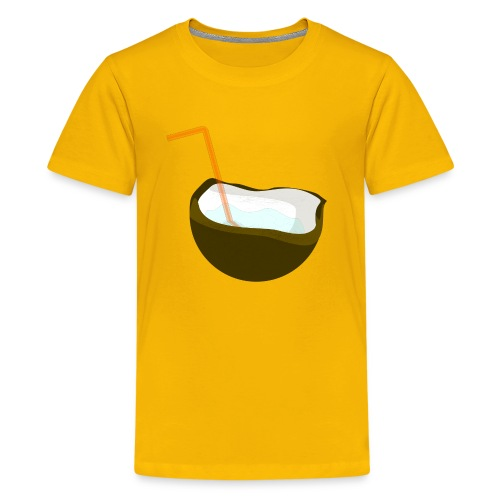 coconut water - Kids' Premium T-Shirt