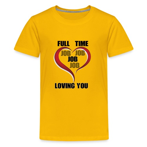 Being happy while being loved - Kids' Premium T-Shirt