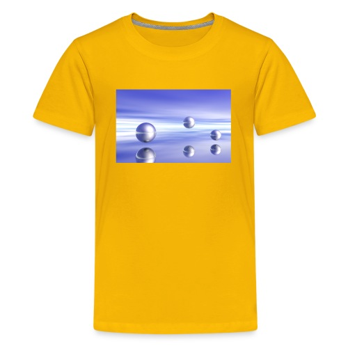 Ball Landscape in 3D - Kids' Premium T-Shirt