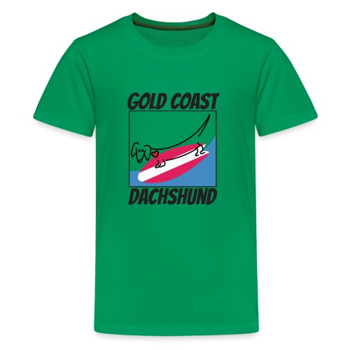 Gold Coast Dachshund - Kids' Premium T-Shirt