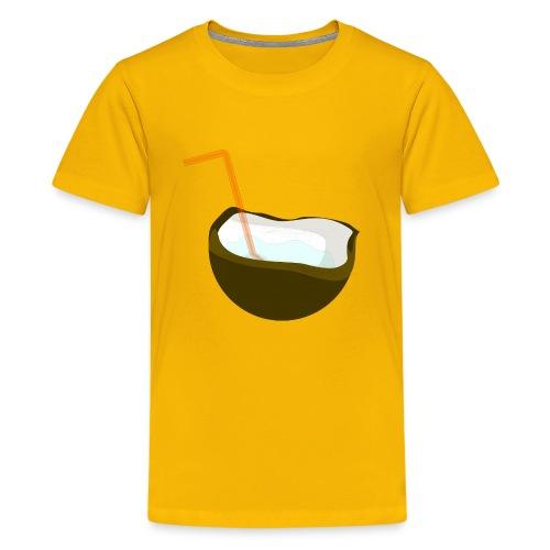coconut water - Kids' Premium T-Shirt