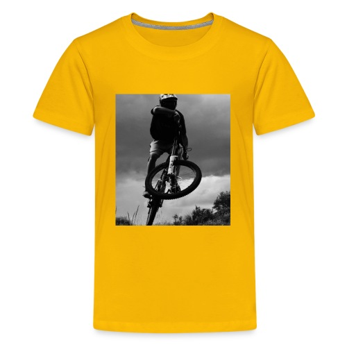 DOWNHILL. - Kids' Premium T-Shirt