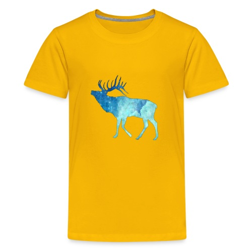 Night time deer - Kids' Premium T-Shirt