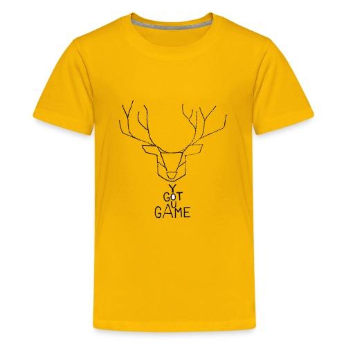Stag GOT GAME - Kids' Premium T-Shirt