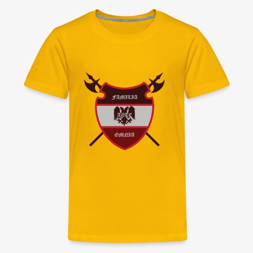 House Pendragon Crest - Family Before All - Kids' Premium T-Shirt