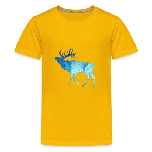 Night time deer - Kids' Premium T-Shirt