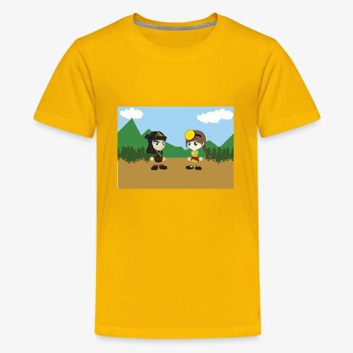 Digital Pontians - Kids' Premium T-Shirt