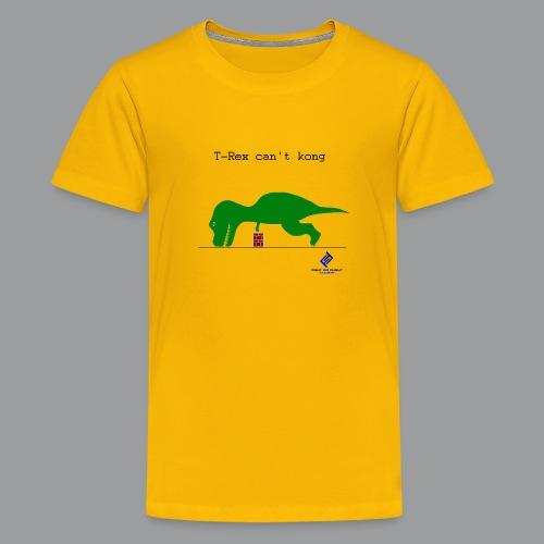 T-Rex Can't Kong - Kids' Premium T-Shirt
