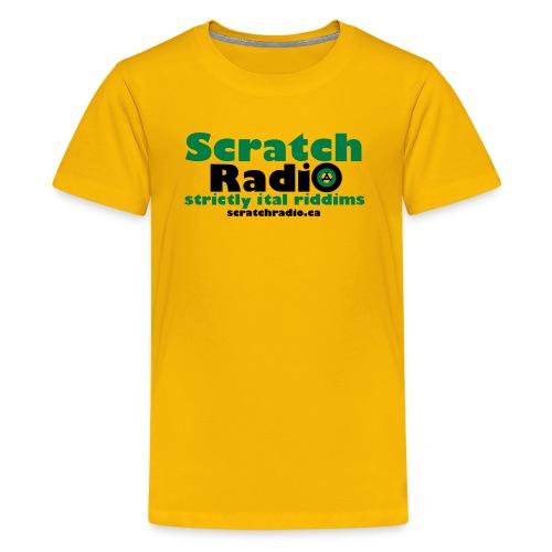 Scratch Radio URL - Kids' Premium T-Shirt