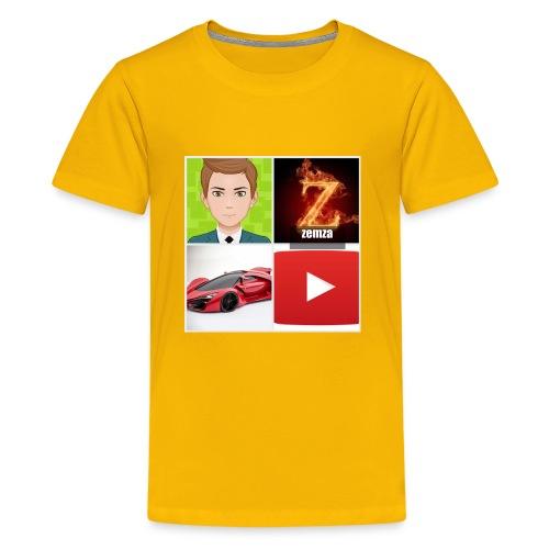 zemza logo 2018 - Kids' Premium T-Shirt