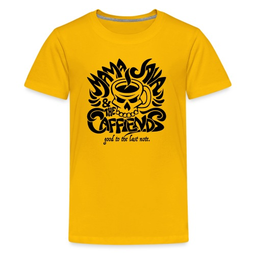 Mama Java & The Caffeinds Rock Band - Kids' Premium T-Shirt