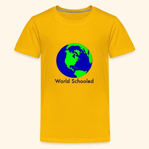 World Schooled - Kids' Premium T-Shirt