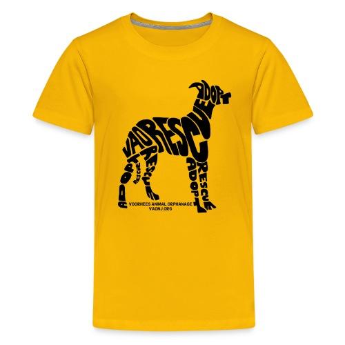 Words Dog png - Kids' Premium T-Shirt