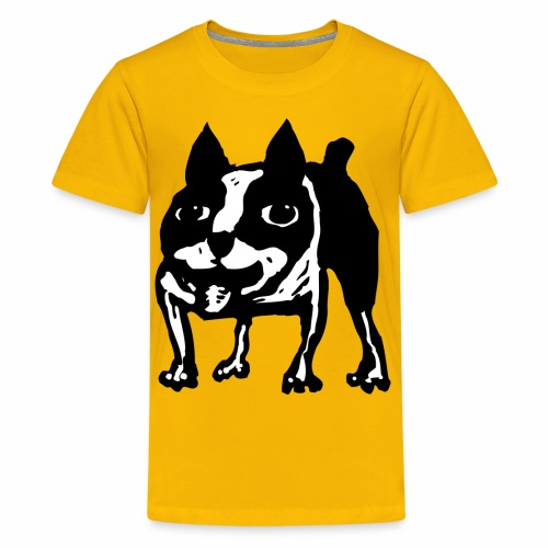 Mad Dog Boston Terrier - Kids' Premium T-Shirt