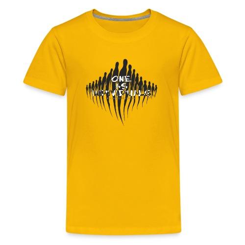 one as individuals - Kids' Premium T-Shirt