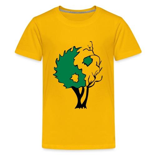 Yin Yang Tree - Kids' Premium T-Shirt