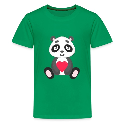 Sweetheart Panda - Kids' Premium T-Shirt