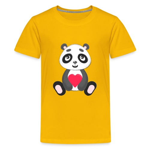 Sweetheart Panda - Kids' Premium T-Shirt