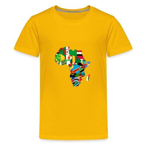United Africa - Proud Africans - Africa Alliance - Kids' Premium T-Shirt