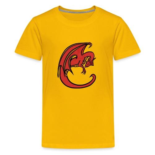 Red Dragon - Kids' Premium T-Shirt