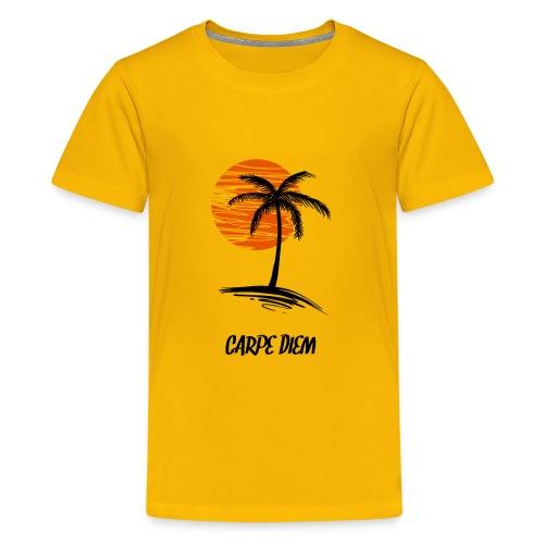 Carpe Diem SunSet Palm Nice Gift - Kids' Premium T-Shirt