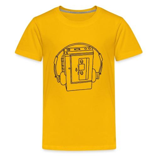 Walkman Portable cassette - Kids' Premium T-Shirt