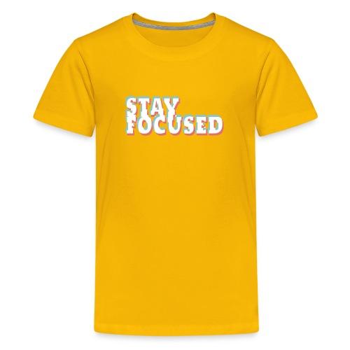 focused - Kids' Premium T-Shirt