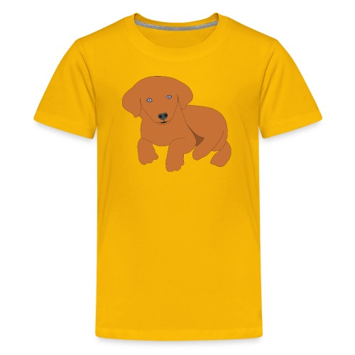 Golden retriever dog - Kids' Premium T-Shirt